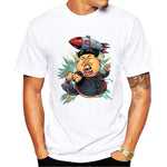 New 2017 Style North Korea Kim Jong-un Printed T-Shirt