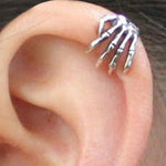 Skeleton Finger Ear Clip / Cuff