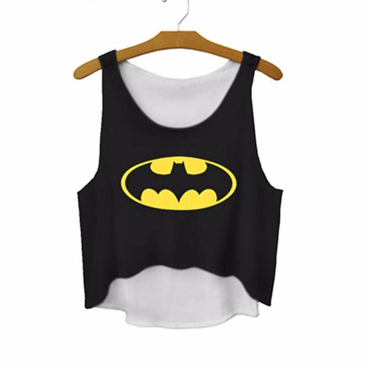 Batman Women Crop Top