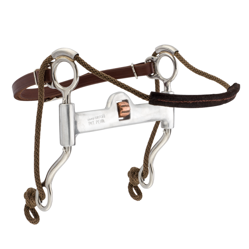 Mikmar Feather Bit - Mikmar Bit Company - Horseback Riding Bits