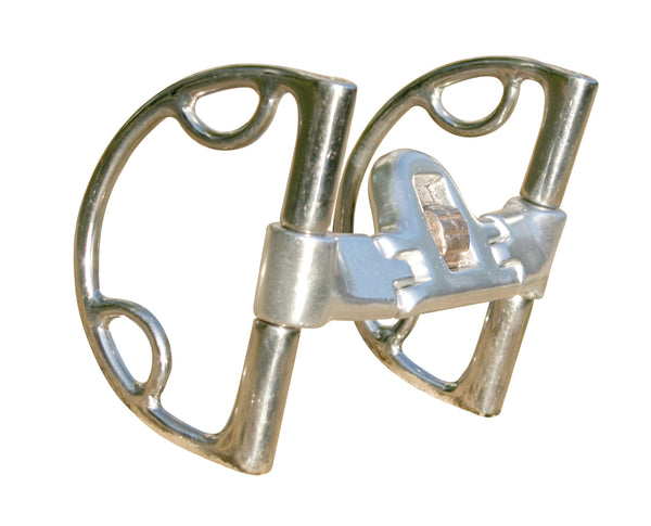 Mikmar D-Ring Snaffle Bit with Loops - Mikmar Bit Company - Horseback Riding Bits