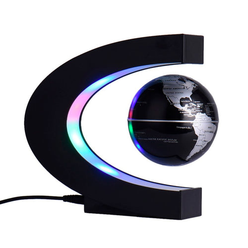 ANTI GRAVITY GLOBE WORLD MAP WITH LED LIGHT
