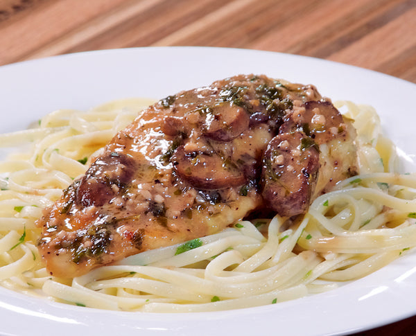 Ghost Pepper & Blueberry Chicken Marsala