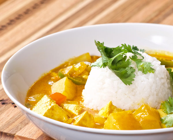 Spicy Vegan Coconut Curry