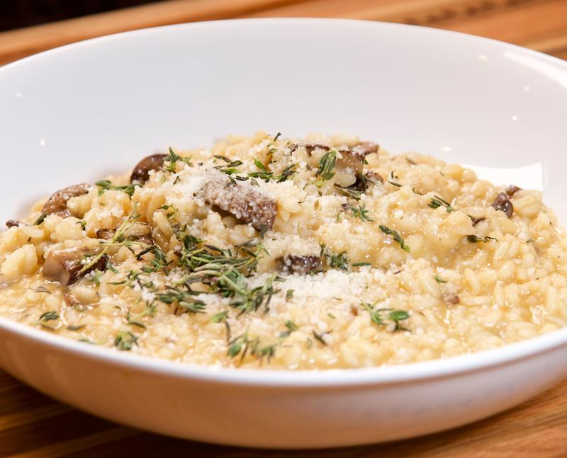 Spicy Mushroom Risotto