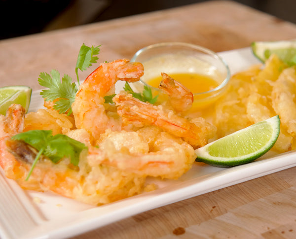 Pineapple Shrimp Tempura