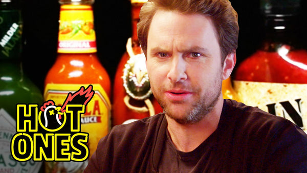 Charlie Day Learns to Love Ridiculously Spicy Wings