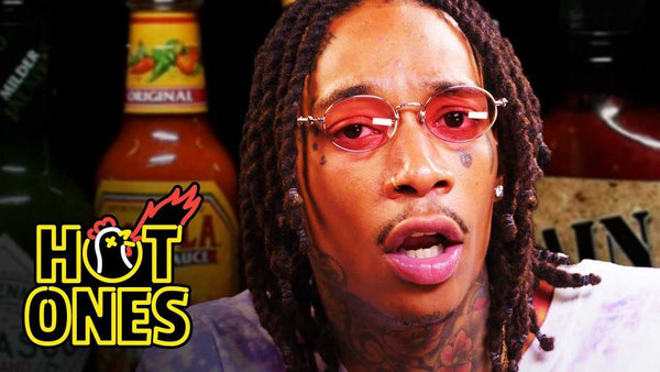 Wiz Khalifa Gets Smoked Out By Spicy Wings