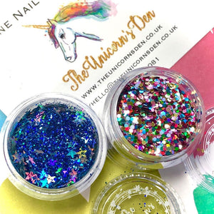 NHS Superstars Over the Rainbow Nail Glitters