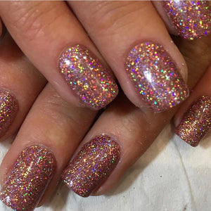 Folklore holographic fine glitter close up