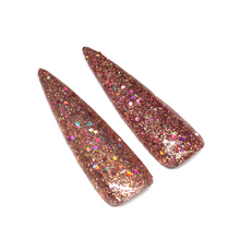 Holographic Chunky Rose gold glitter