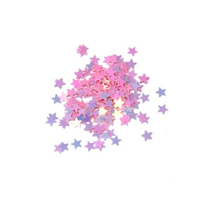 pink stars for nails