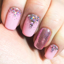 Pink Elephants - Nail Art Glitter