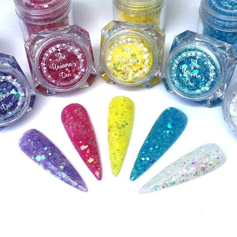 Summer Lovin Nail Glitter Collection