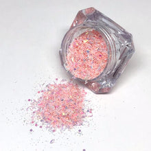 pink ice baby pink nail glitter