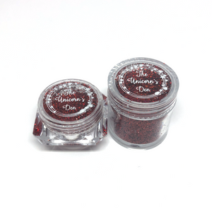Ruby Shoes - Large Nail Glitter