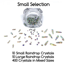 Small selection of AB Crystals for nails