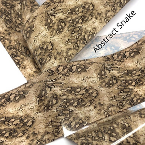 abstract snakeskin transfer nail foil