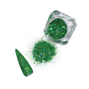 Elfin' Around - Chunky Nail Glitter