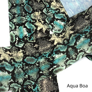 aqua boa snakeskin foil for nails