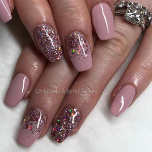 Diamond Blush - Nail Art Glitter