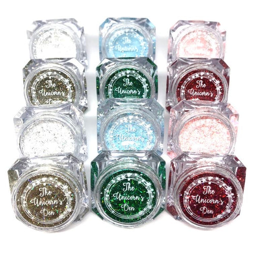 christmas nail glitter tinsel town collection