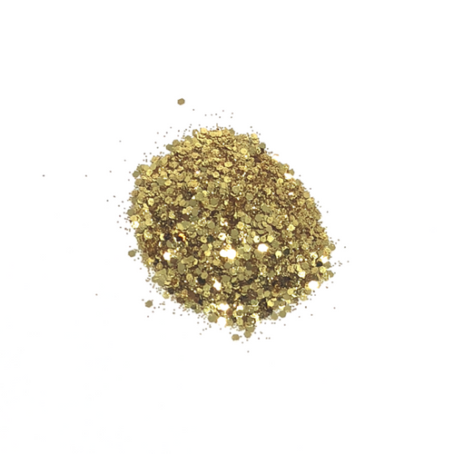 Golden Nugget - Chunky Nail Glitter