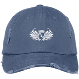 Scotland Blue D4G Distressed Dad Hat