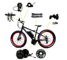 Bafang BBSHD 48V 1000W Electric bicycle Motor mid drive bike conversion kit with C965 LCD display and Brake sensor