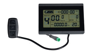 Electric BIKE 24V 36V 48V intelligent LCD Control Panel For Electric fat bikes LCD Display with 25A controller Sondors Upgrade