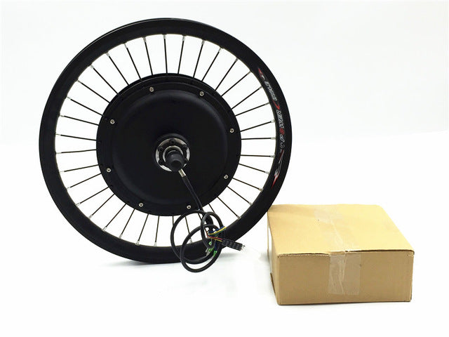 "E-Bike kit front or rear motor 65km/h 48v 1500w Electric bike conversion kit for 20"" 24"" 26"" 28"" 700c ** battery not included **"