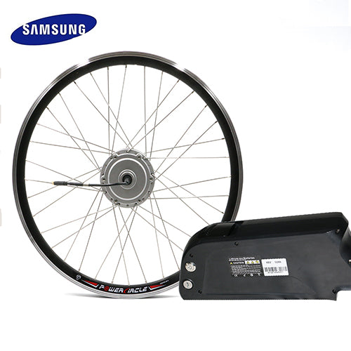 "SAMSUNG Li-Ion Cell Kettle Battery 12ah with 48V 250W 350W 500W Electric 26"" wheel hub Ebike Conversion Kit"