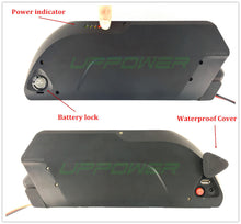 48V 17.5Ah Tiger Shark Locking Down Tube Electric Bike Battery with Sanyo cells