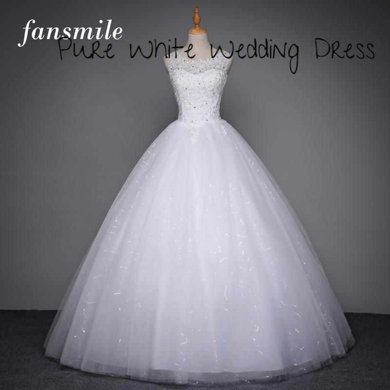 Pam Global Deals Lace Up Ball Gown Quality Wedding Dresses