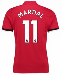 Anthony Martial Man Utd home/away/3rd Jersey 17-18