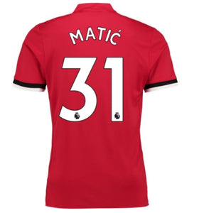 Nemanja Matic Man Utd home/away/3rd Jersey 17-18