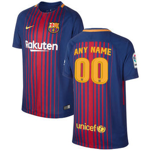 F.C Barcelona home Jersey 17-18