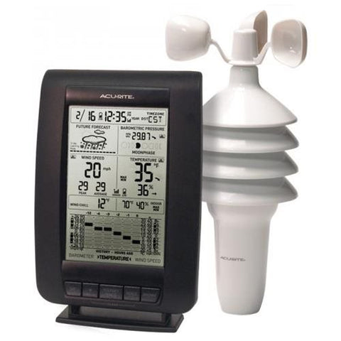 AcuRite 00634 Wireless Weather Station with Wind Sensor 00634A1