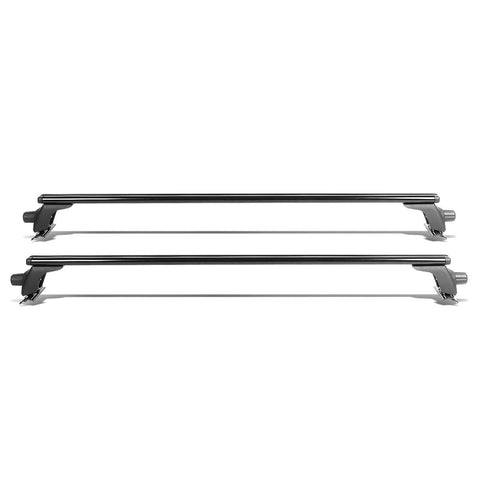 "50"" Adjustable Pair of Aluminum Top Cross Bar Cargo Roof Racks"
