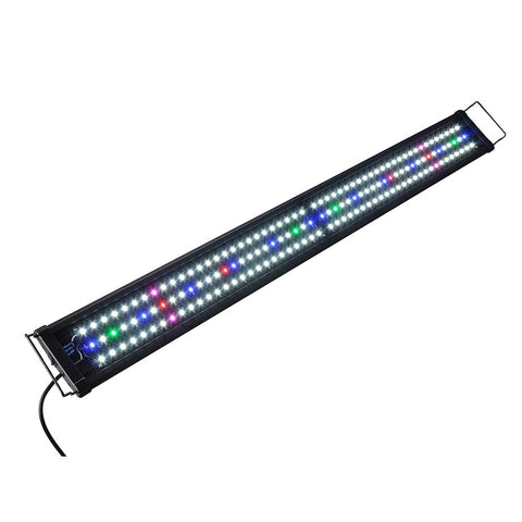 "48"" 156 Multi-Color LED Aquarium Light Full Spectrum Lamp For 45-50"" Fish Tank"