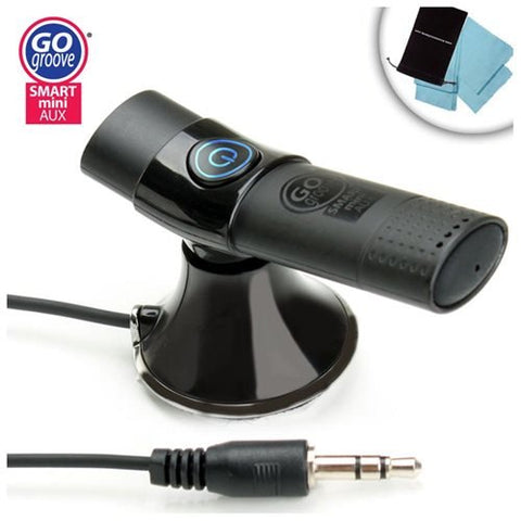 SMARTmini Bluetooth Receiver Car Kit w/ A2DP Streaming for iPad , Samsung , Surface & More Tablets