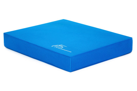 "ProSource Exercise Balance Pad for Physical Therapy Fitness Stability Training 15.5""x 12.5"" Blue"