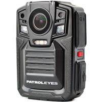 """PatrolEyes PE-DV5-2 1296p Body Camera with Night Vision and GPS, 32GB Storage"""