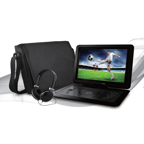 "Ematic 14.1"" Portable DVD Player Bundle EPD142BLEmatic 14.1"" Portable DVD Player Bundle EPD142BL"