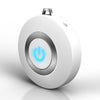 Image of Bakeey Wearable Air Purifier Necklace Mini Portable USB Air Cleaner Negative Lon Generator Low Noise Air Freshener - White