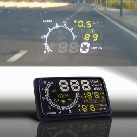 Car Head-up Display HUD with Speedometer