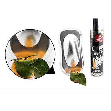 Spray Paint Chrome Stainless Steel Paint Floor Paint Car Wheels Chrome Waterproof Paint 300ml
