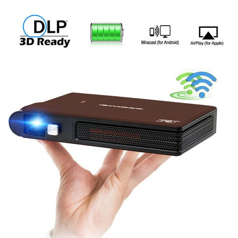 Portable Pocket LED Home Cinema Projector