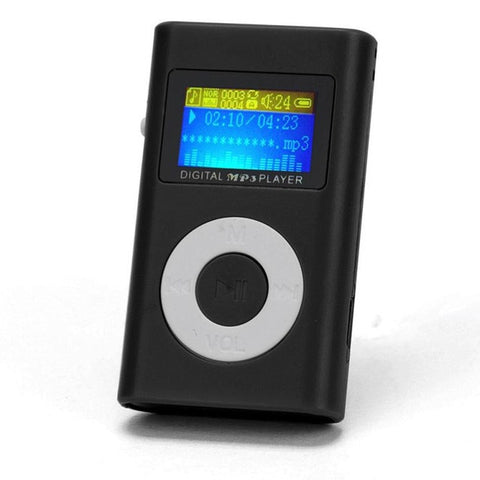 2018 Mini MP3 Player USB  LCD Screen Support 32GB Micro SD TF Card  MP3 Player For Children 3.5mm stereo Jack 5Color#25