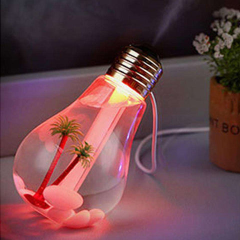 Lamp Humidifier Home Aroma LED Humidifier Air Diffuser Purifier Atomizer - Gadget Druggie